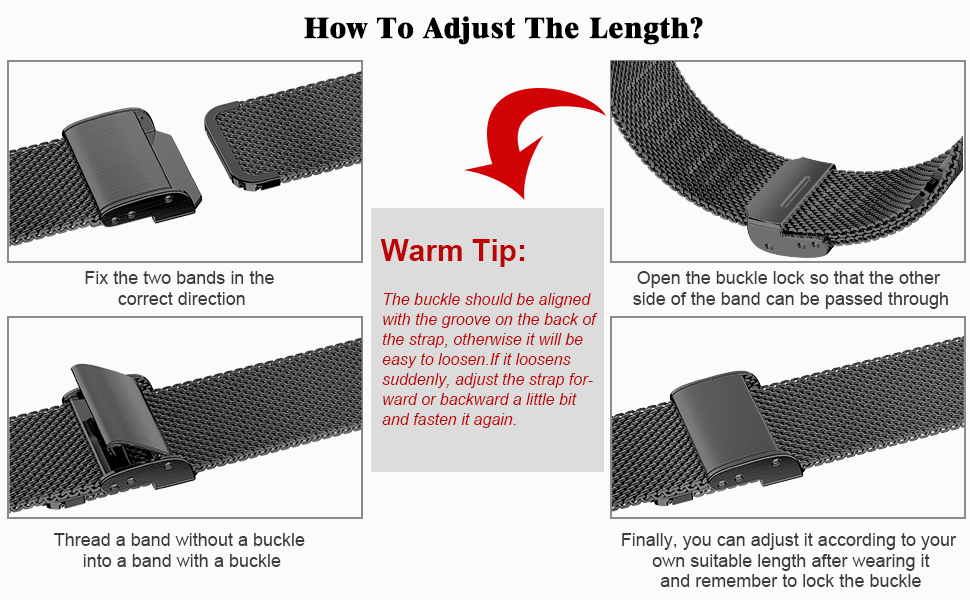 HOW TO ADJUST THE LENGTH?