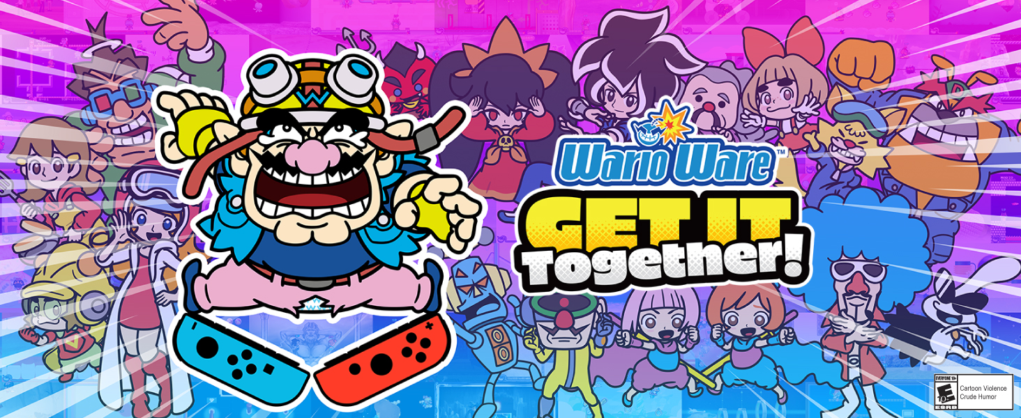 Amazon.com: WarioWare: Get It Together! Standard - Switch [Digital Code] :  Electronics