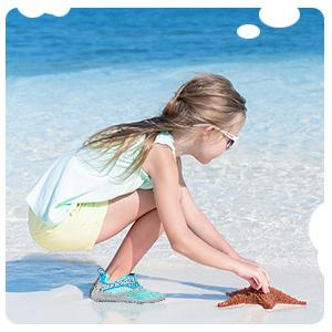 toddler kids barefoot beach water sport shoes for boys girls