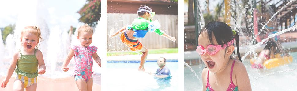swimming vest kids play summer pool