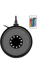 Air Stone Disc with LED Lamp