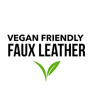 vegan friendly faux leather