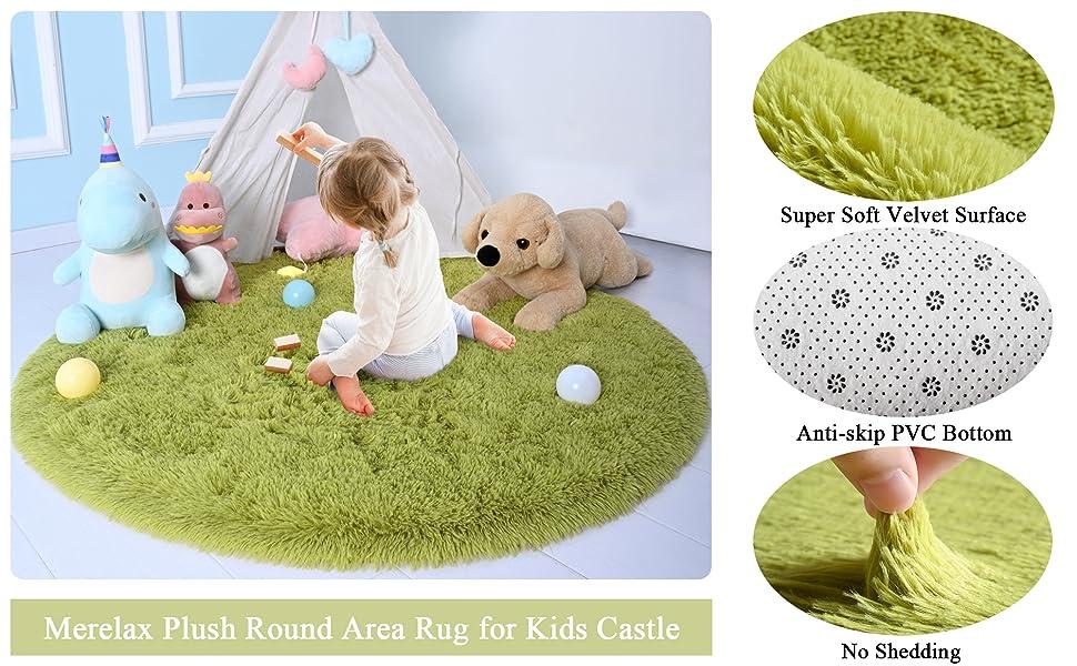 anti-slip bottom area rug