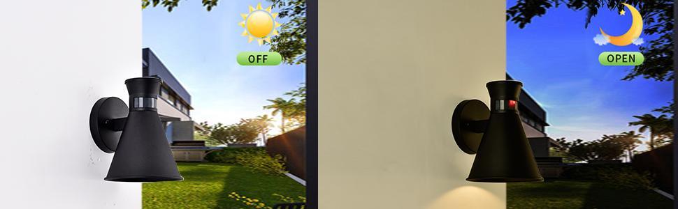outdoor porch light