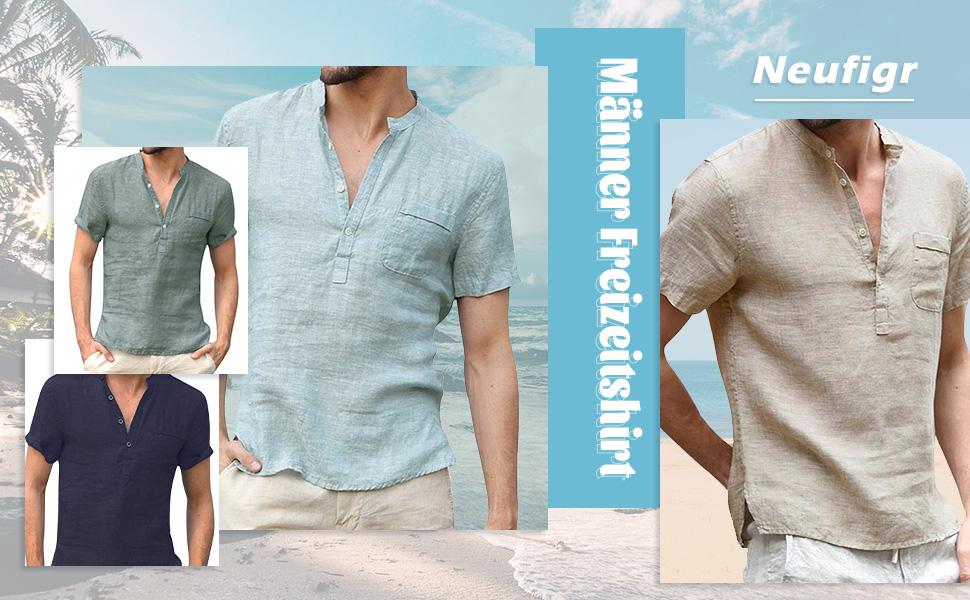 Men's summer casual T-shirt