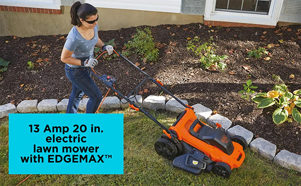 BLACK+DECKER 13 Amp 20 in. Electric Lawn Mower