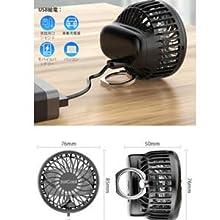 ミニサイズ 扇風機 小型 扇風機  携帯 首掛け