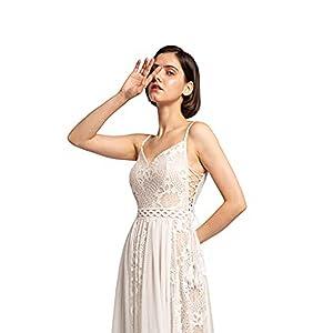 side wedding dress