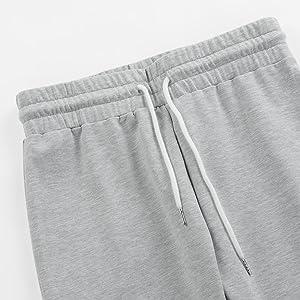elastic waisted long pant set