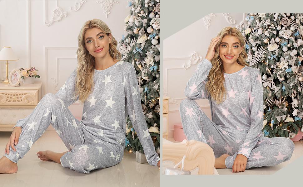 womens sleepwear with pants