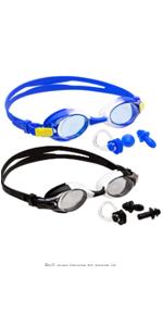 Kids Swim Goggles (2 Pack)