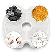 cat water fountain filters
