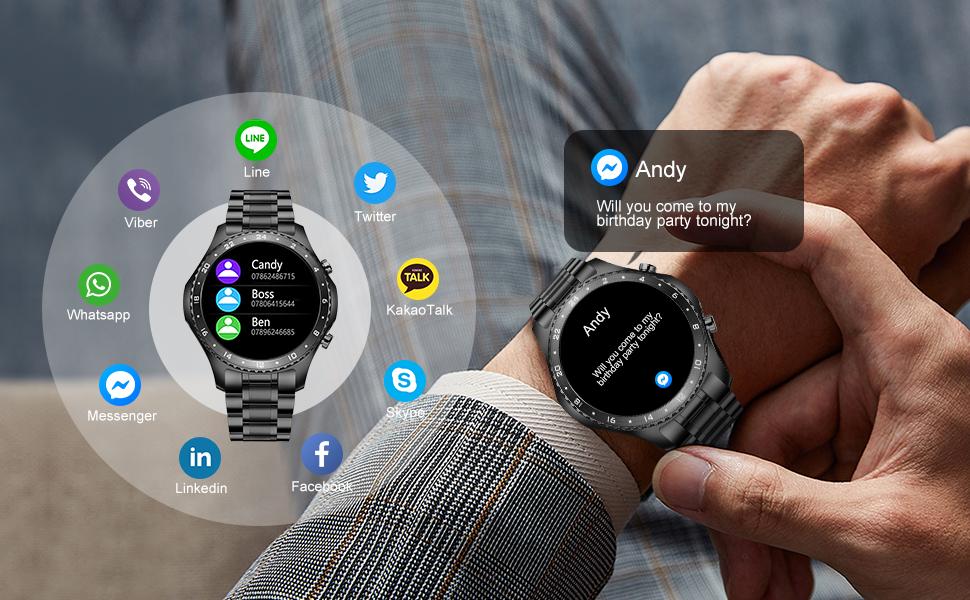 information smart watch