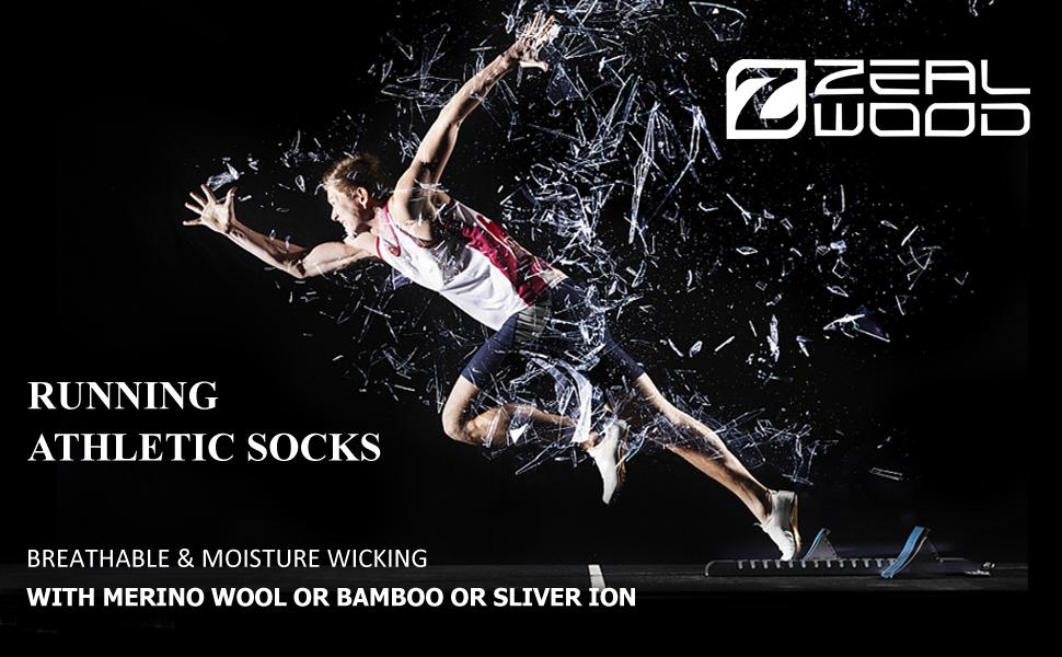 running athletic socks
