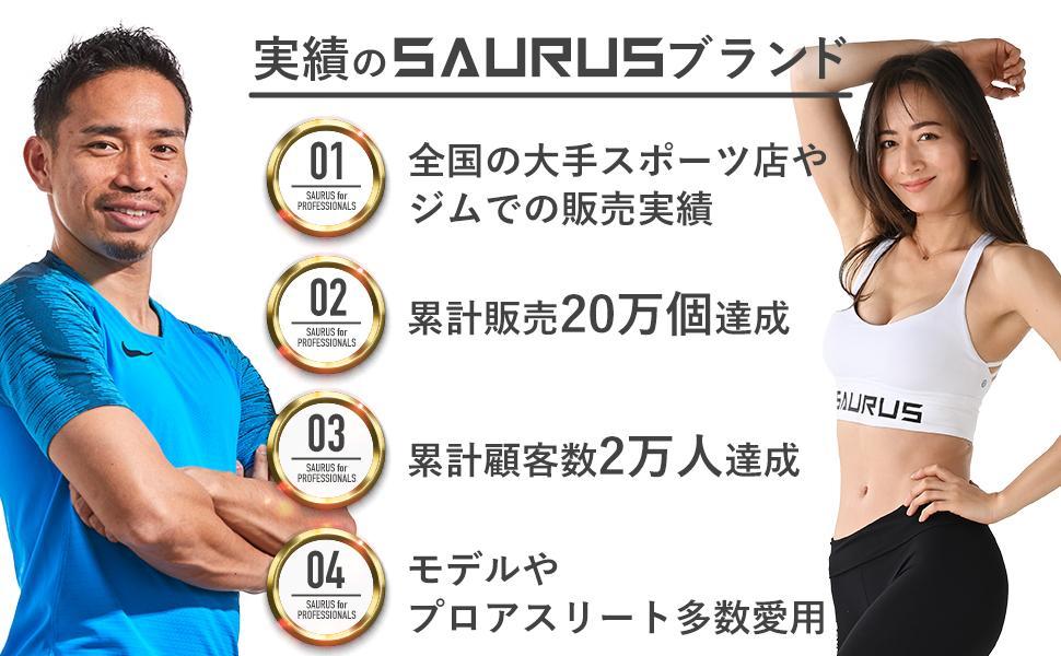 実績のSAURUSブランド