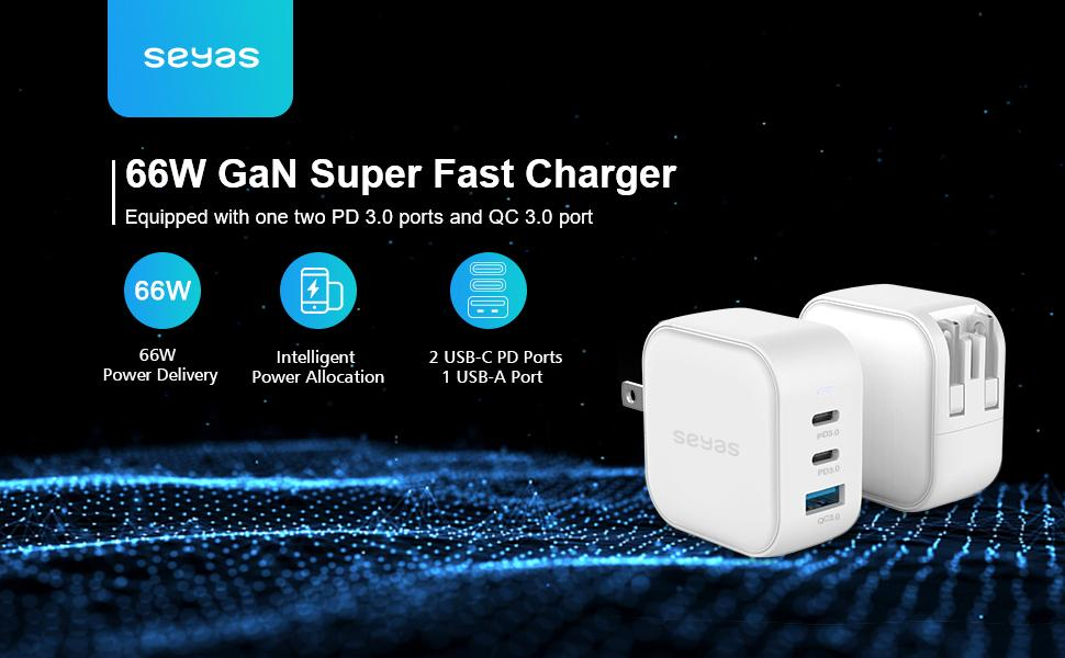 66w fast charger pd charger