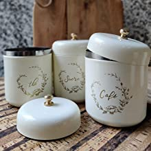 ELAN Curved Canisters Set