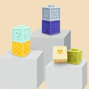 BPA -Free Blocks Easy To Clean