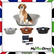 Heavy Duty Plastic Waterproof Dog Beds and Cushions