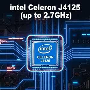 iPC45 Mini PC J4125 2.7GHz CPU