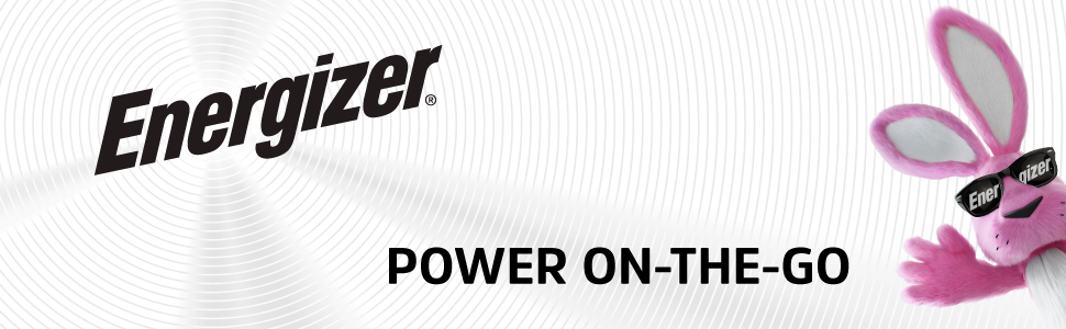 Energizer Bunny- POWER ON-THE-GO