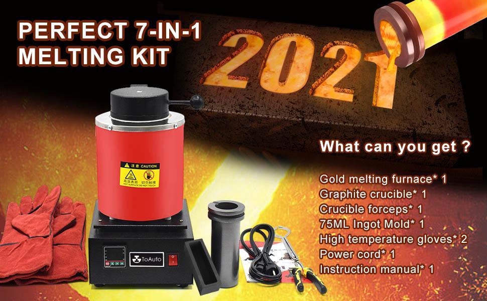 3KG Digital Automatic Melt Furnace