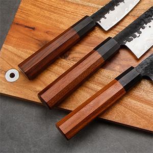 chef knife Octagonal Handle