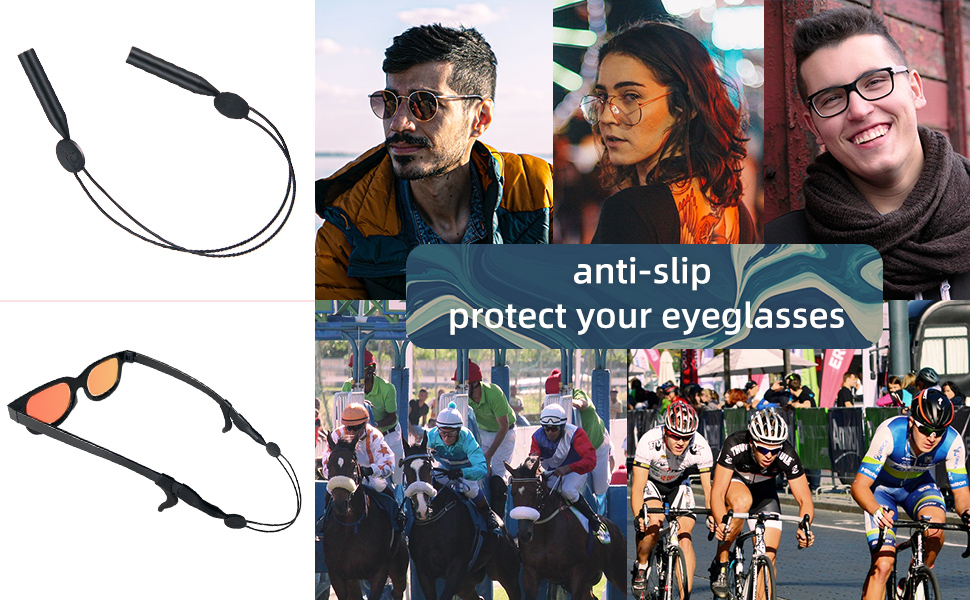 4 pack eyeglass strap