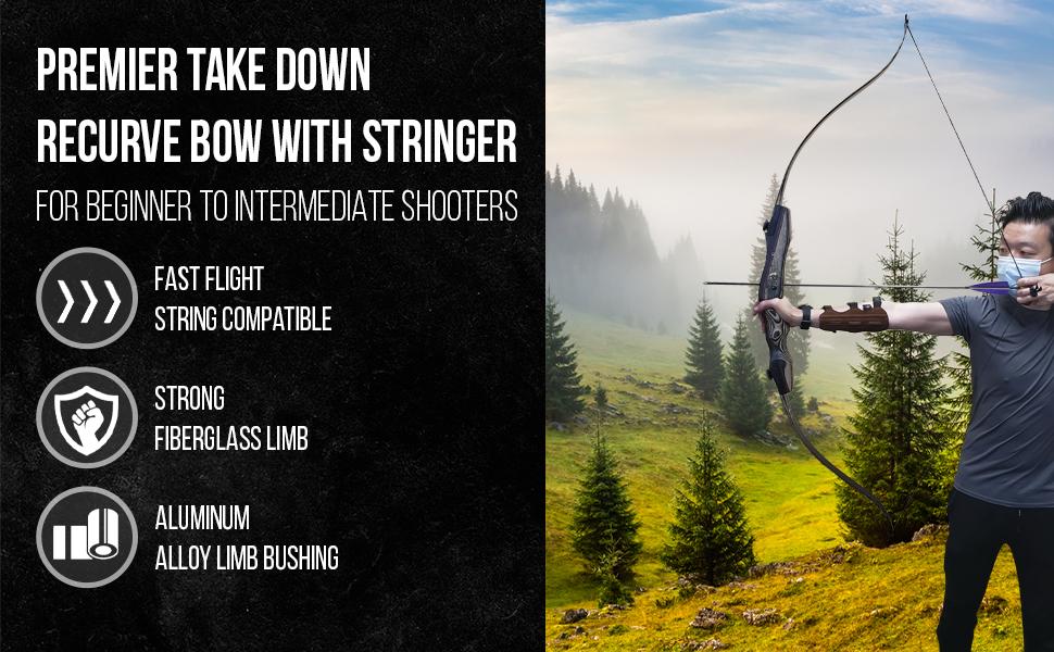 SAS Sage Premier Takedown Bow Samick Hunting Target