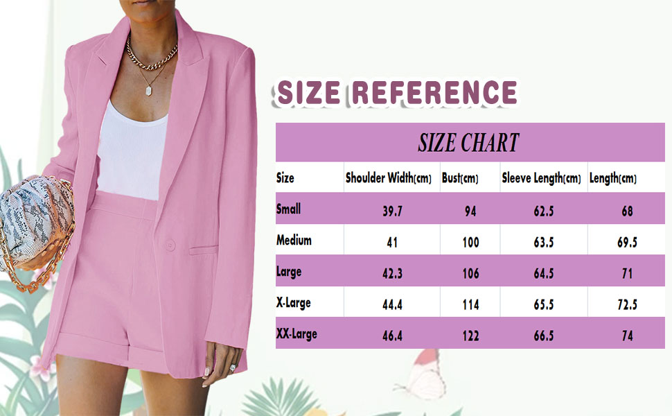 Size chart tp help you make a more precisely size choose