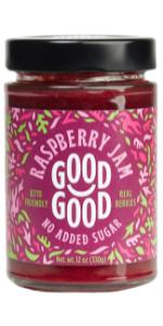 keto diabetes no added sugar natural raspberry jam