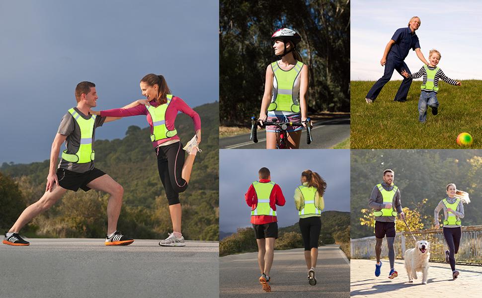 Application of tccfcct running vest