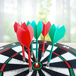Safety dart board strong resilience and easy to grip