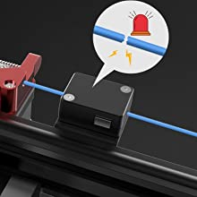 Creality-CR-30-3DPrintMill-3D-Print-Belt-Printer-Filament Run-out Detection