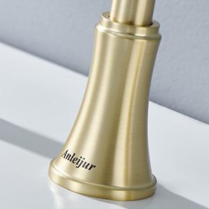bath faucet gold