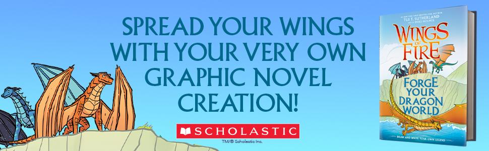 Spread your wings with your very own graphic novel creation
