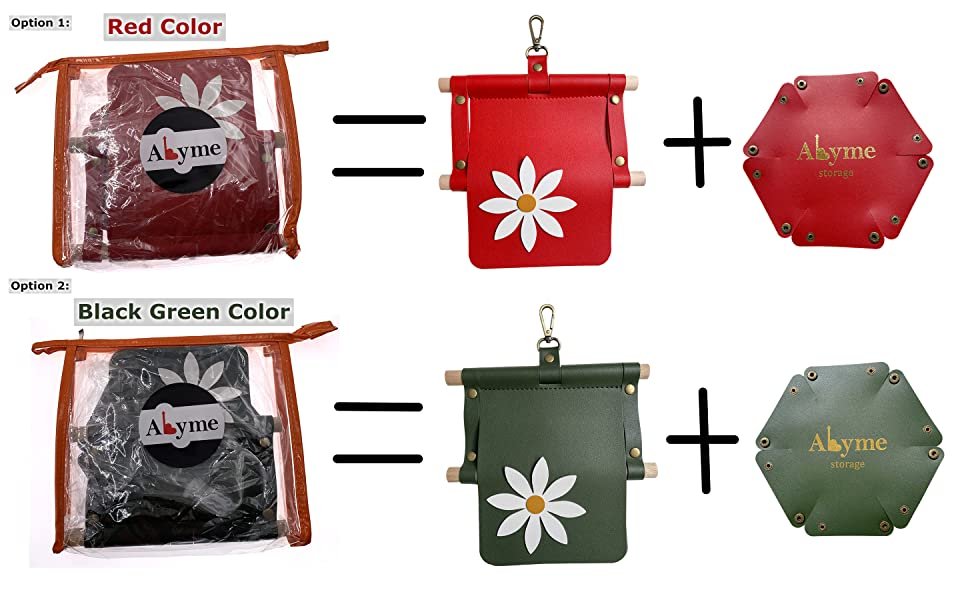 PVC Wash Bag Package Toilet Paper Roll Holder PU Leather Sundries Tray