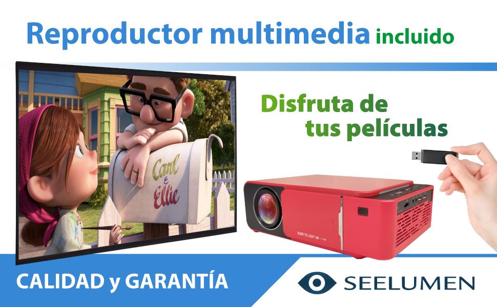 proyector 4k portatil, proyector 1080p portatil, nativo, ps5, xbox series