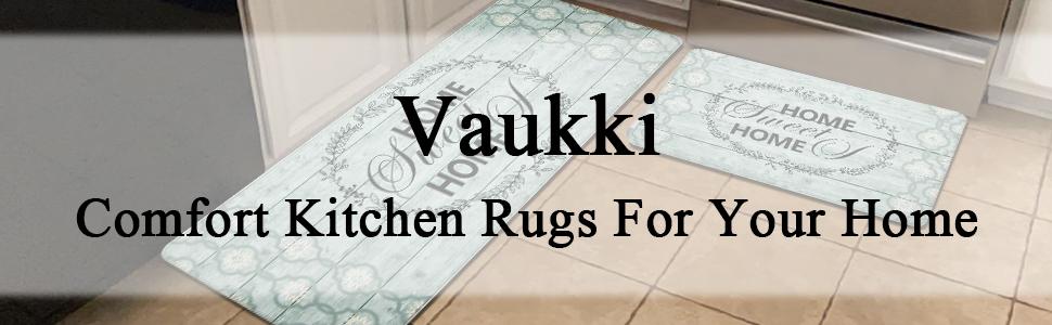 kitchen comfort runner rugs set of 2