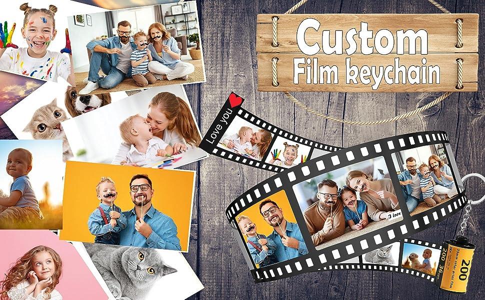 film roll keychain
