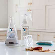 Cleaning product that cuts through grease & grime.