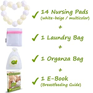 bamboo breast pads washable nursing pads for breastfeeding nursing breast pads reusable nipple pads