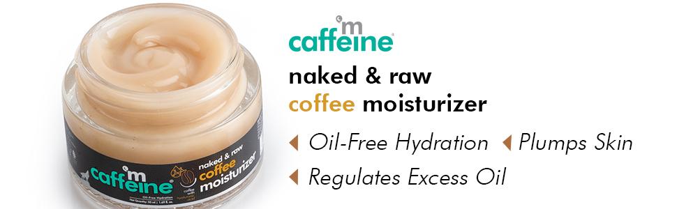 mCaffeine Naked & Raw Coffee Moisturizer