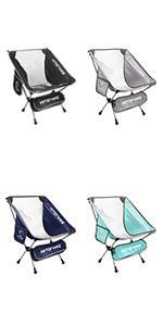 Hitorhike Camping Chair Nylon Mesh 1PACK