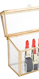 Makeup Cosmetic Case with Mirror