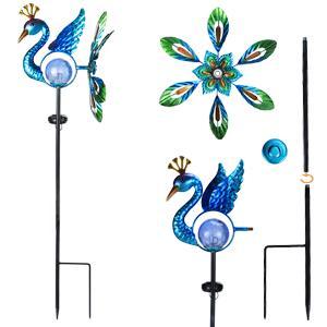 peacock garden lights