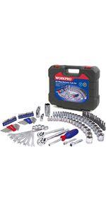 Drive Socket Wrench Set, 101-piece