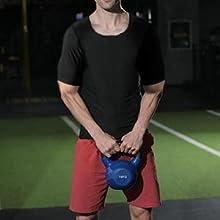 sports vest weight loss sweat tank top