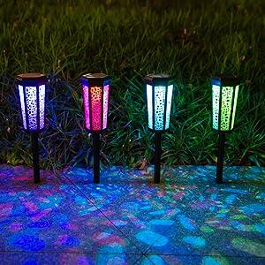 solar color lights