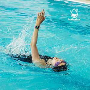 IP68 Swimming Waterproof Smartwatch